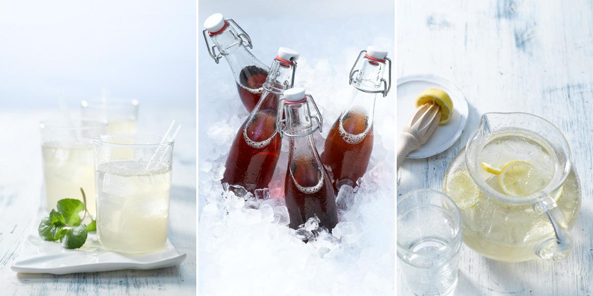 ErfrischungsgetrŠänke mit GewŸürztee